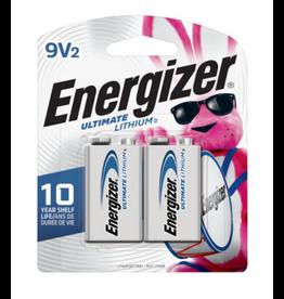 Energizer Energizer Ultimate 9V Lithium Batteries 2 pack