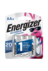 Energizer Energizer Ultimate AA Lithium Batteries 4 pack