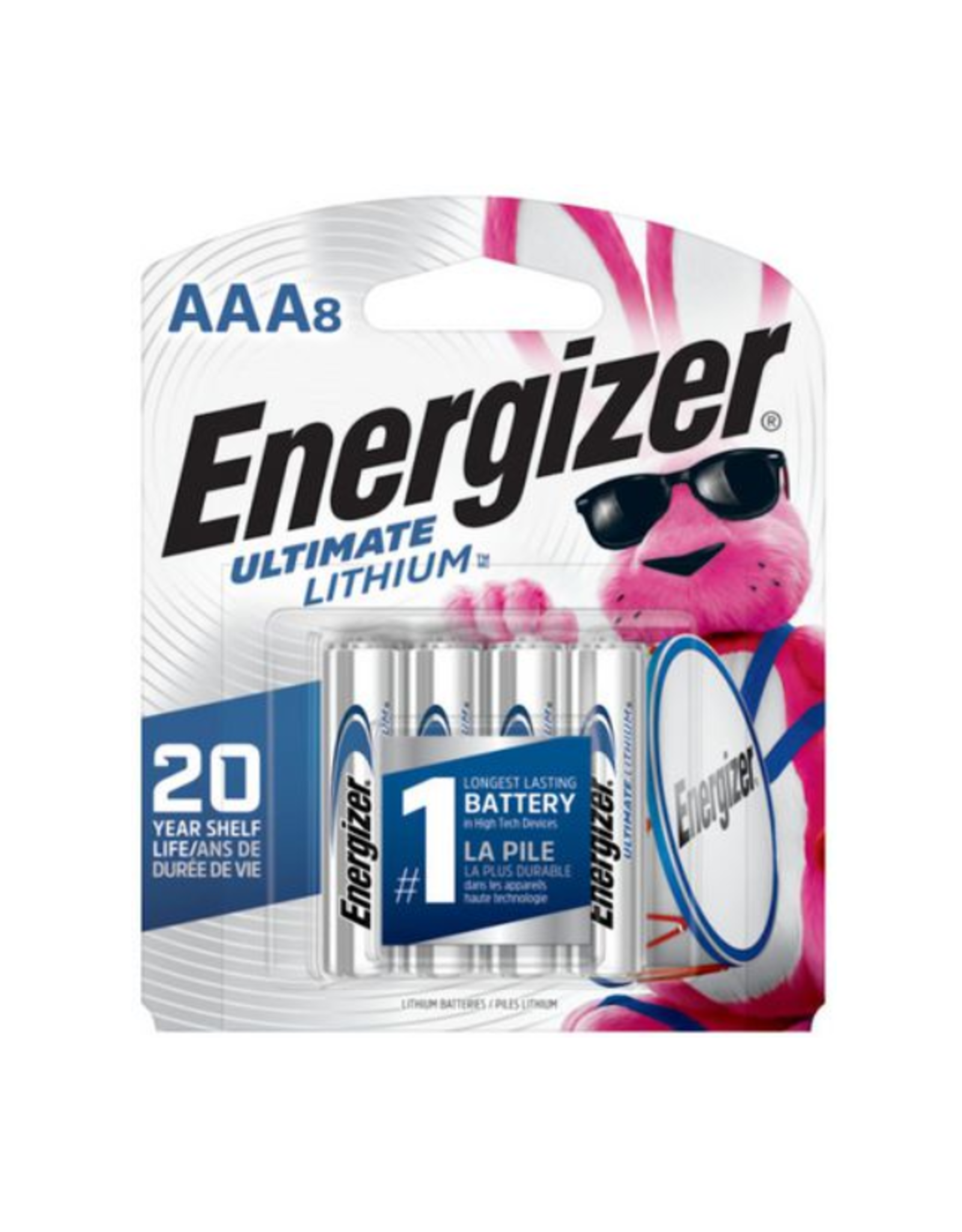Energizer Energizer Ultimate AAA Lithium Batteries 8 pack