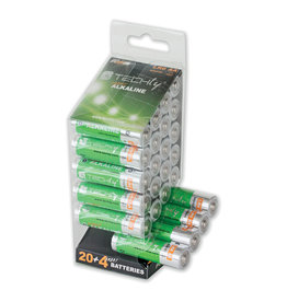 Techly Techly AA Super Alkaline Batteries, 24 Pack
