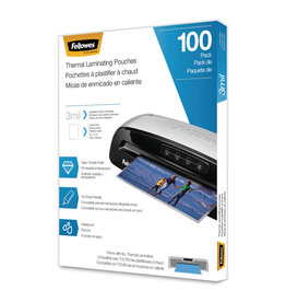 Fellowes LAMINATING POUCH-LETTER, 3MIL 100/PACK