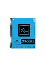Canson ART PAPER PAD-XL MIX MEDIA, 9X12 COIL SIDE BOUND, 60 SHEETS