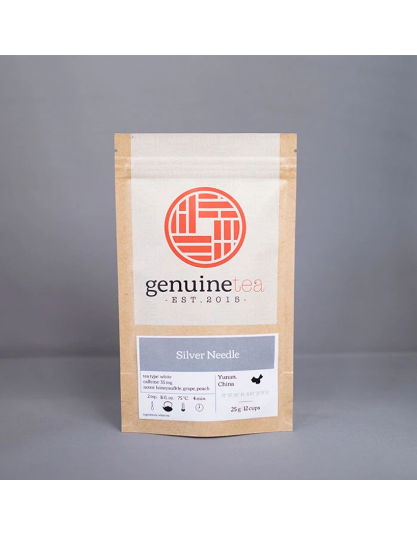 Genuine Tea Genuine Tea, Silver Needle 25g Loose