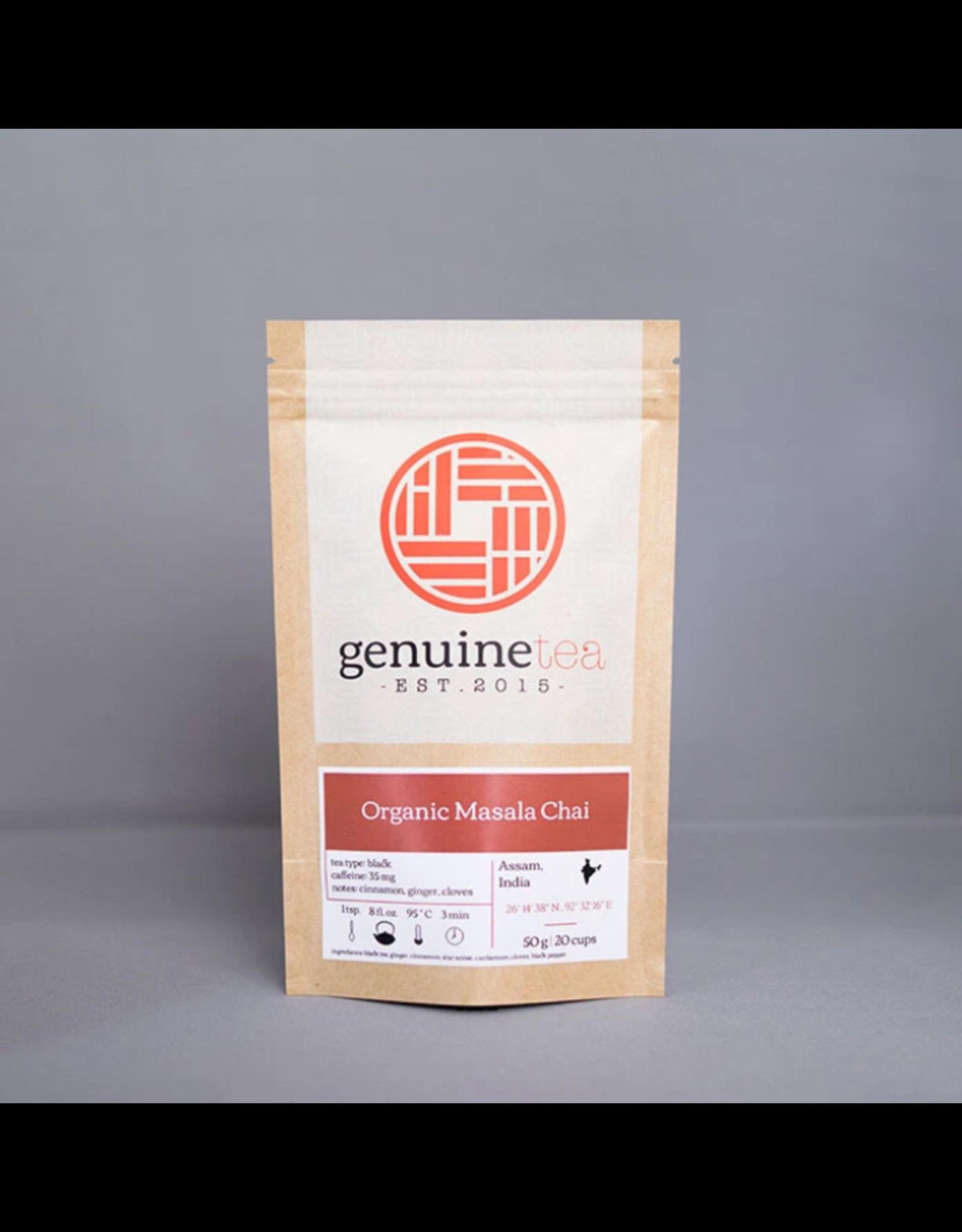 Genuine Tea Genuine Tea, Organic Masala Chai 50g Loose