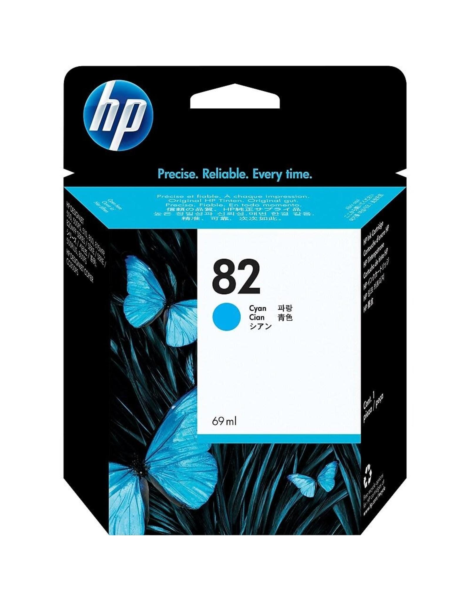 INK, HP # 82, HP-C491-1A, CYAN