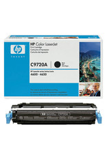 CARTRIDGE, HP C9720A BLACK