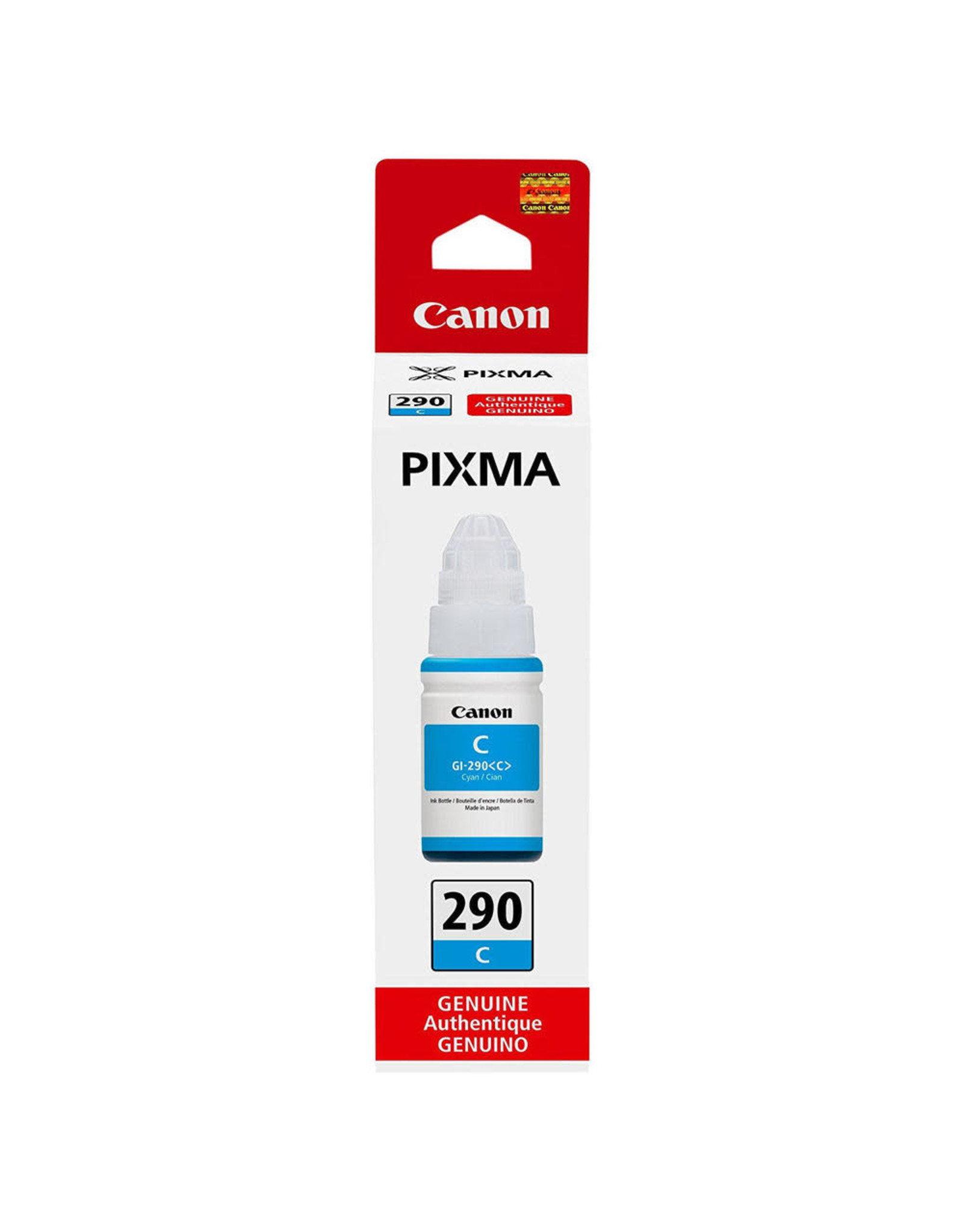 CANON INK CARTRIDGE, 290, CYAN