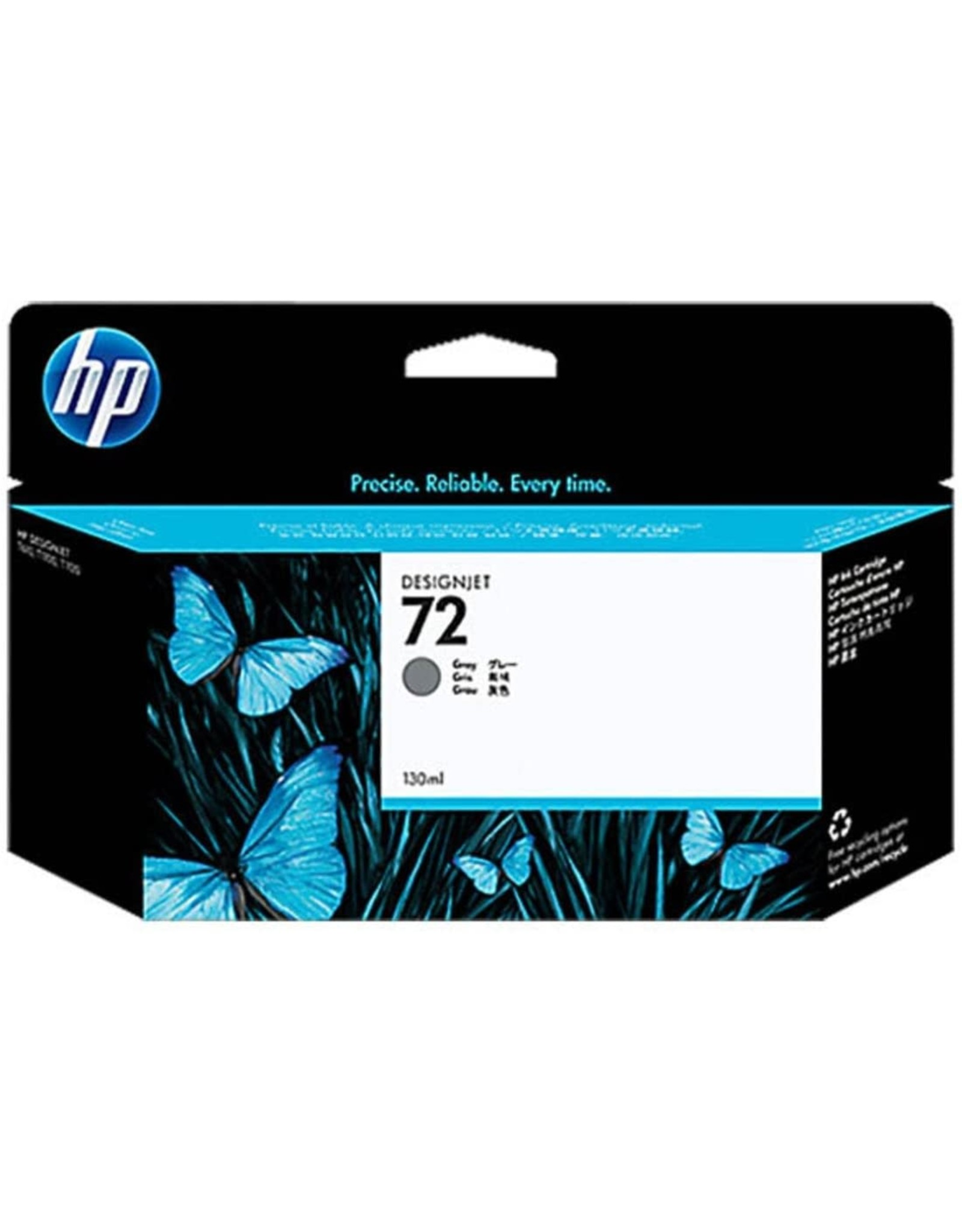 HP HP 72 Grey Ink Cartridge C9374A