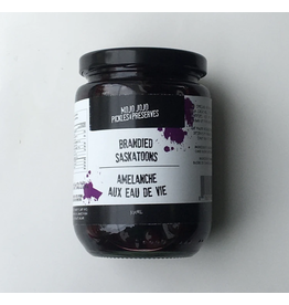 Mojo Jojo Pickles Mojo Jojo, Brandied Saskatoon Berries 375ml