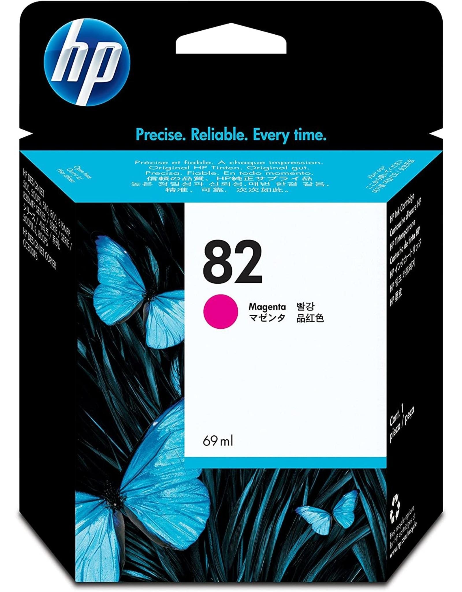 INK, HP #82, HP-C491-2A, MAGENTA