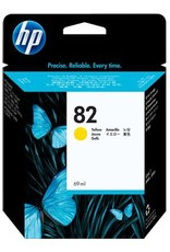 INK, HP # 82, HP-C491-3A, YELLOW