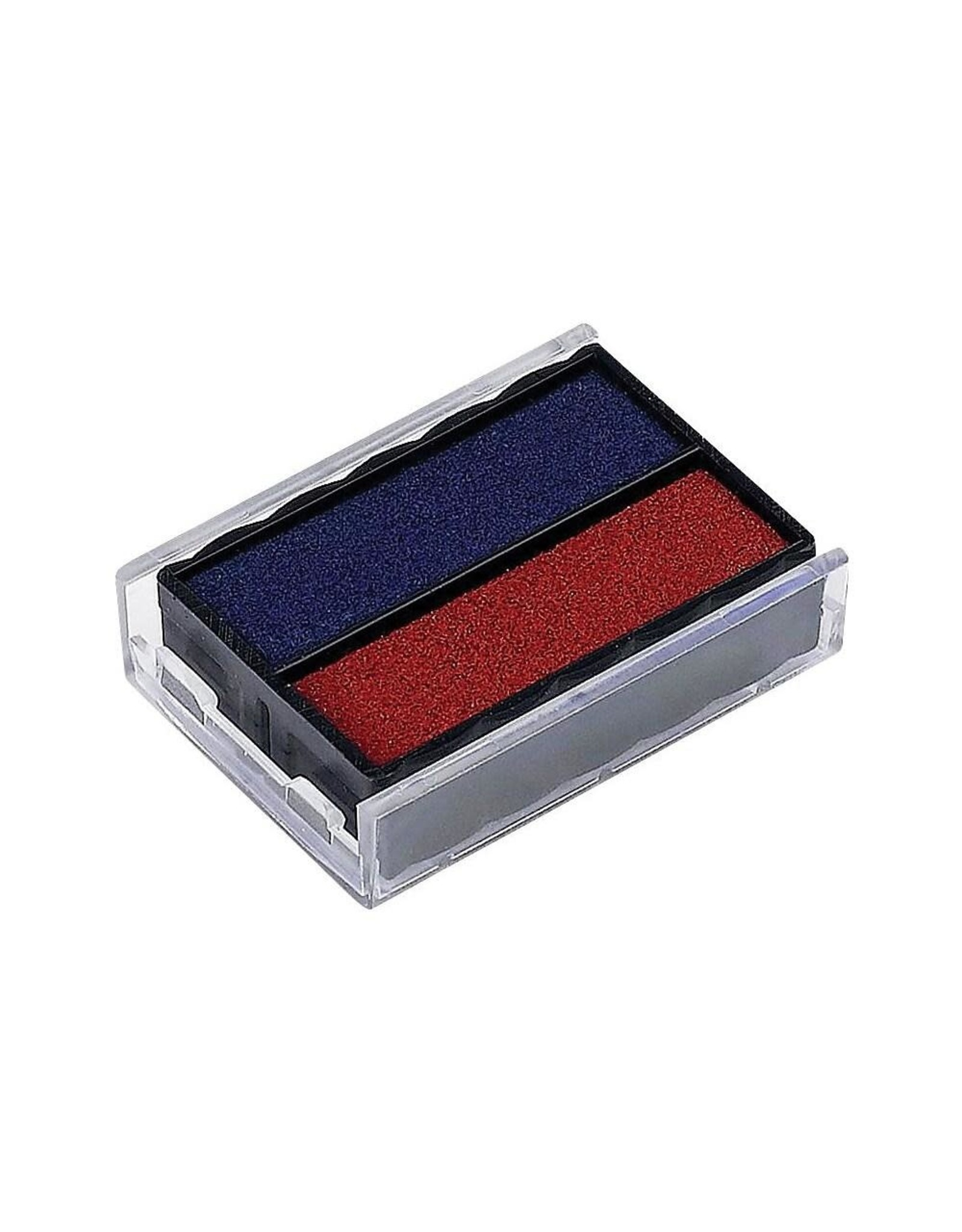 INK PAD, 4850, RED/BLUE