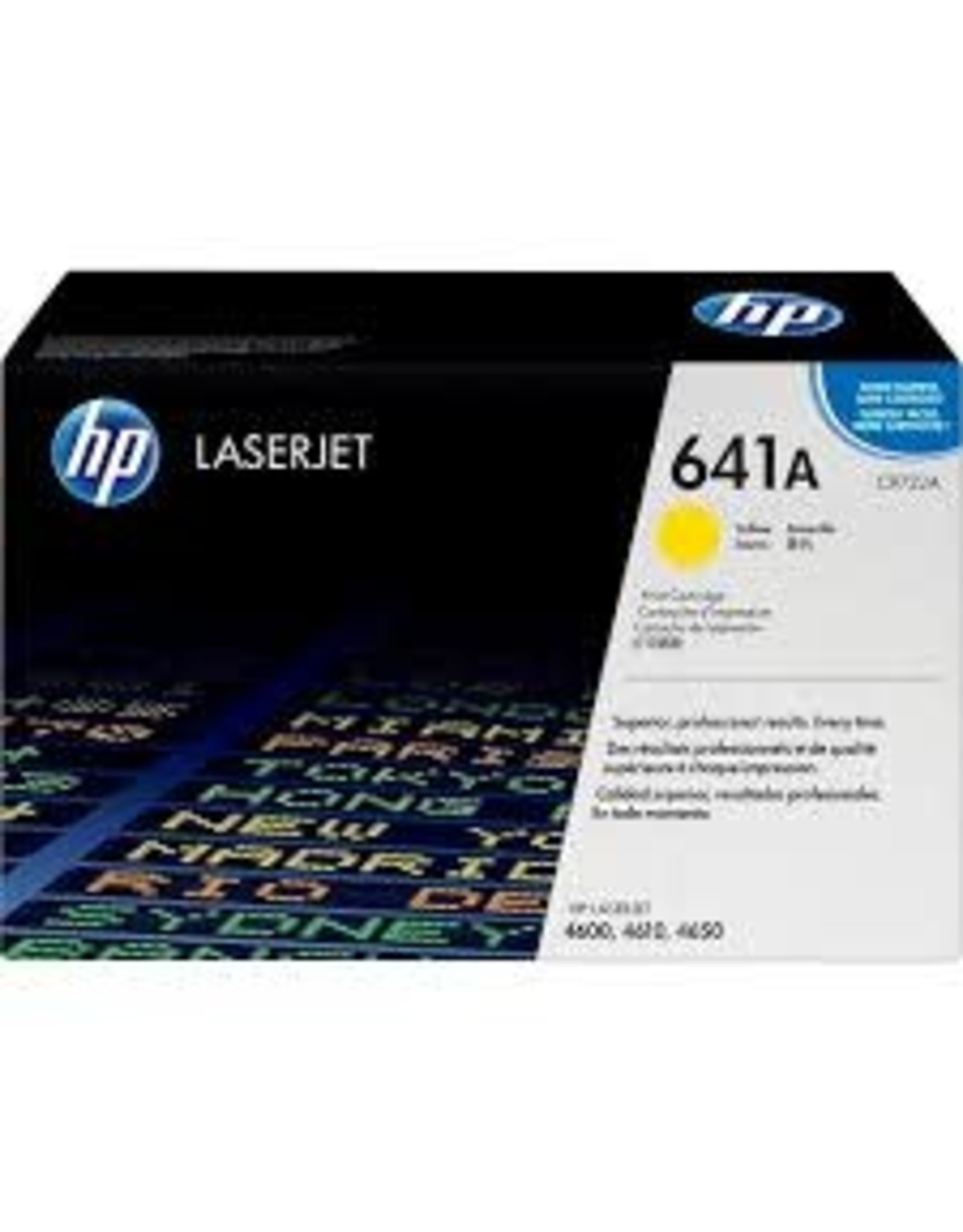 CARTRIDGE, HP C9722A YELLOW