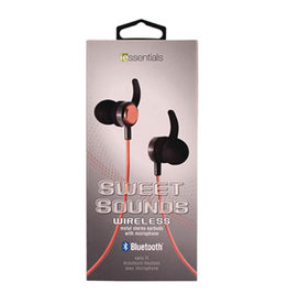 iEssentials iEssentials Earbud Bluetooth Sweet Sounds w/Mic Rose Gold SKU:49091
