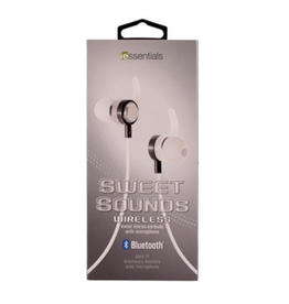 iEssentials iEssentials Earbud Bluetooth Sweet Sounds w/Mic Silver SKU:49092