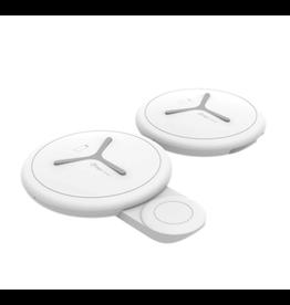 Digipower Digipower Qi Travel Charger Dual Phone and Watch Pads 10WQI SKU:50051