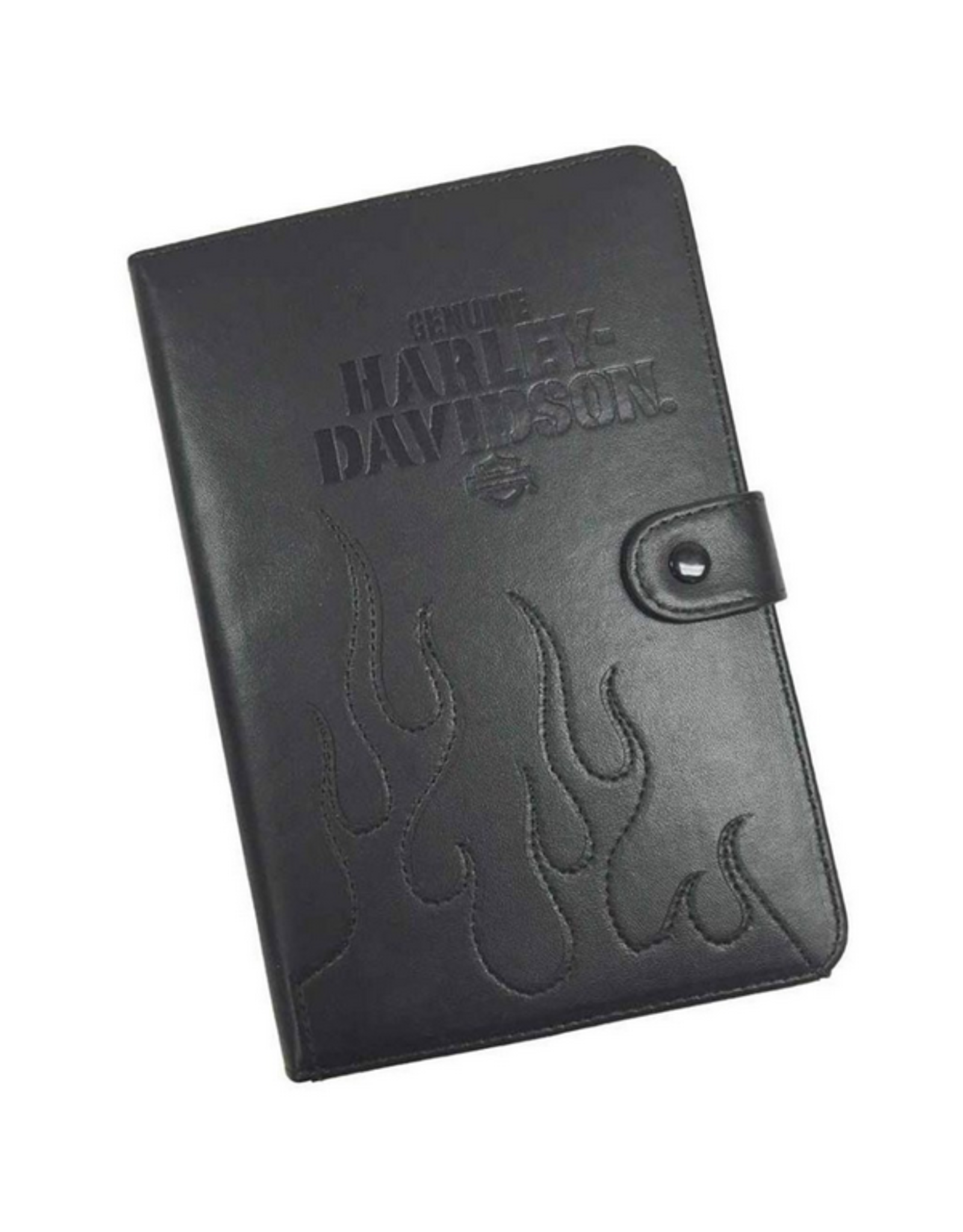 Harley Davidson Harley Davidson Universal 7-9 in Tablet Folio Black Leather SKU:50259