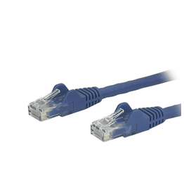 Startech Startech 2ft CAT6 Ethernet Cable Blue 100W POE