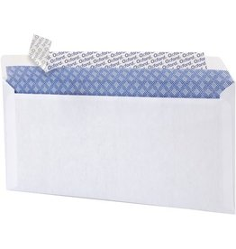 TOPS Products ENVELOPE-#10 WHITE, SECURITY PEEL & SEAL 500/Box