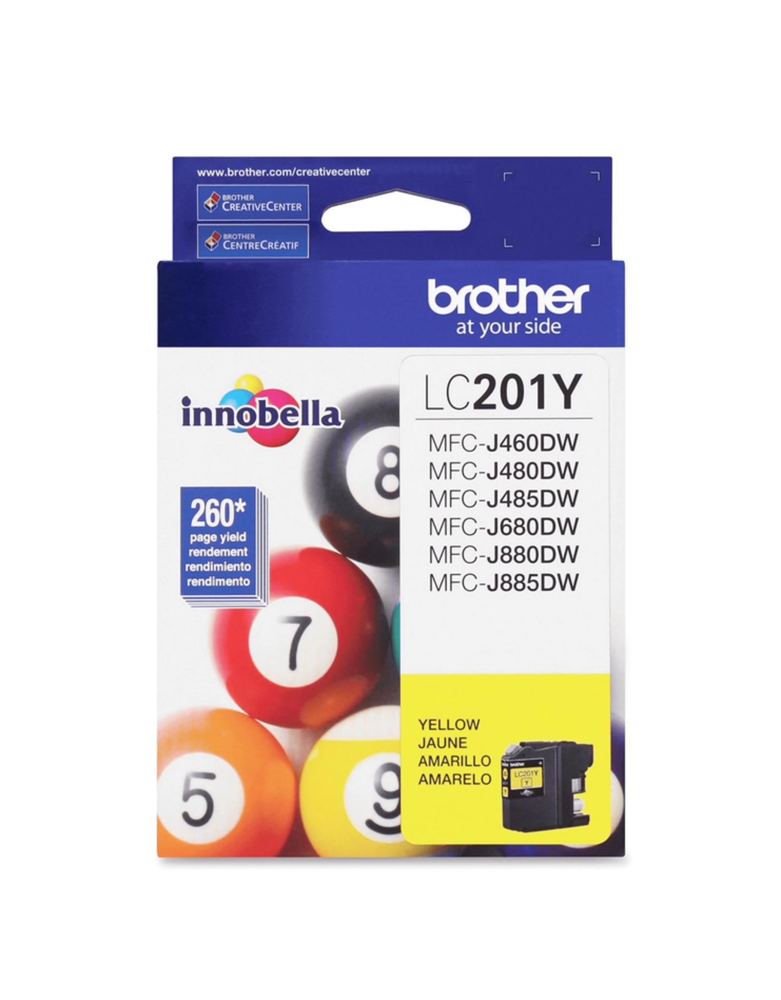 Brother INKJET CARTRIDGE-BROTHER YELLOW