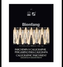 Bienfang CALLIGRAPHY PARCHMENT PAPER 8.5X11, BIENFANG #207, ASSORTED