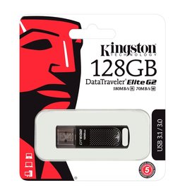 Kingston Technology Kingston Technology DataTraveler Elite G2 128GB USB 3.0/3.1 Drive