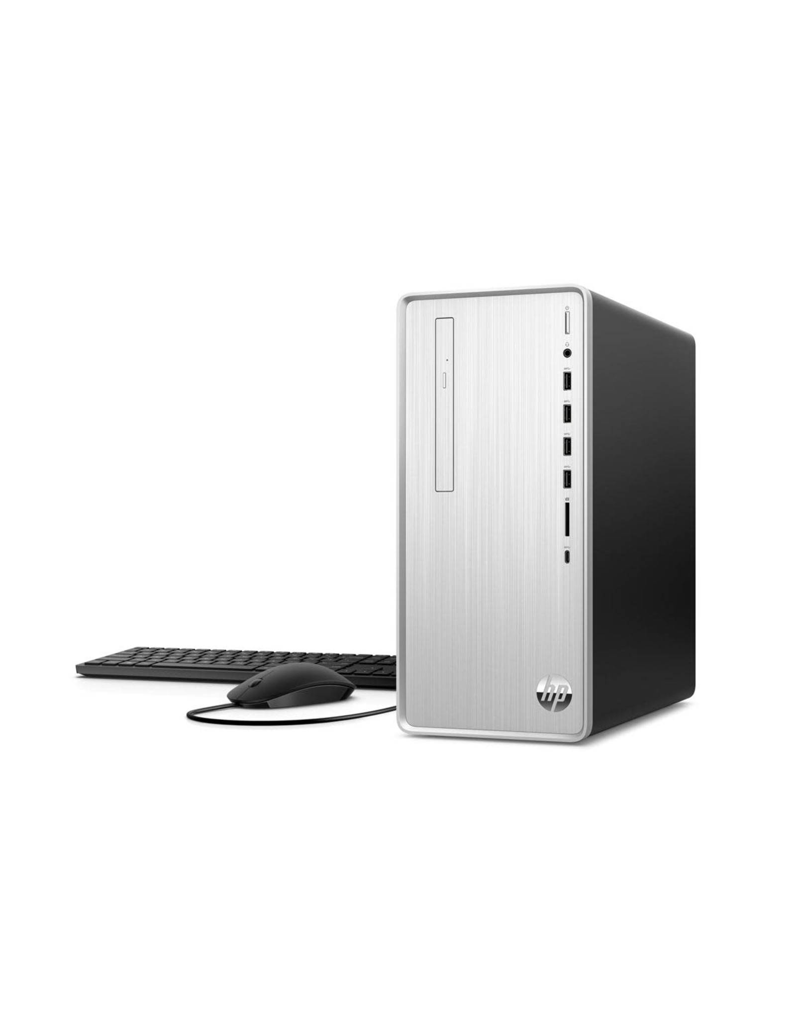 HP Desktop - HP Pavilion - AMD Ryzen 3200g - 8GB DDR4 - 1TB SATA HDD - 256GB PCIe SSD - Wifi - Bluetooth