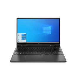 "HP HP ENVY x360 15.6"" Touch Screen Notebook, AMD Ryzen 5, 8GB DDR4, 256GB PCIe NVMe M.2 SSD, Windows Home 10, Nightfall Black Aluminum"