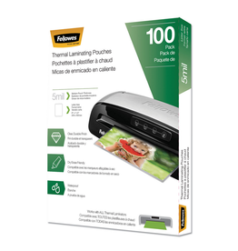 Fellowes LAMINATING POUCH-LETTER, 5MIL 100/PACK