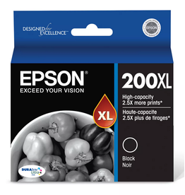 Epson INKJET CARTRIDGE-EPSON #200XL BLACK HIGH YIELD