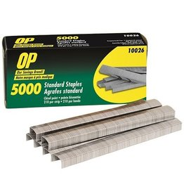 ACCO Brands STAPLES-STANDARD CHISEL-POINTED, OP BRAND