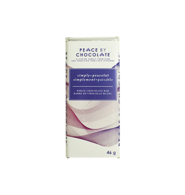 Peace by Chocolate Peace by Chocolate, Simply Peaceful White Chocolate Bar 46g