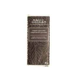 Peace by Chocolate Peace by Chocolate, Simply Peaceful Dark Chocolate Bar 46g