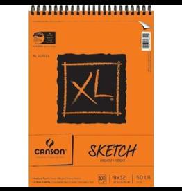 Dixon SKETCH BOOK-COIL, XL 9X12 TOP BOUND, 100 SHEETS