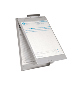 Acme United SHEET HOLDER-ALUMINUM LETTER, TOP HINGED WITH OUTER CLIP