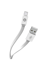 iEssentials iEssentials 4ft Charge & Sync Cable Micro Flat White SKU:49051