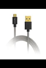 Digipower Digipower 6ft Charge & Sync Cable Tangle Free Micro USB SKU:38843