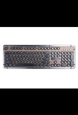 Azio Azio Keyboard Retro Bluetooth ELWOOD Walnut Panel/CpprTrim