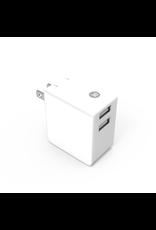 iEssentials iEssentials Wall Charger 3.4 Amp 2 Port White SKU-49033