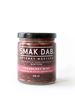 Smak Dab Foods Ltd. Smak Dab Gourmet Mustard, Cranberry Wine, 250mL