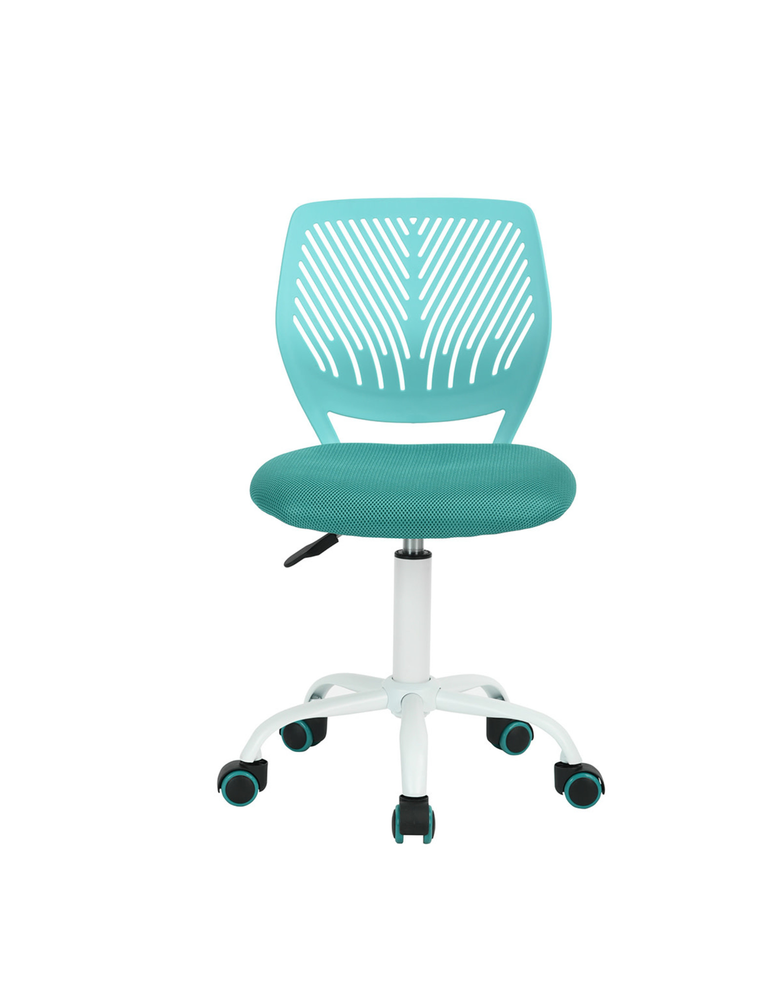 Chair - Task Chair - Height Adjustable - Turquoise