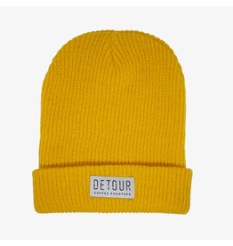 Detour Coffee Detour Coffee, Barista Beanie Yellow