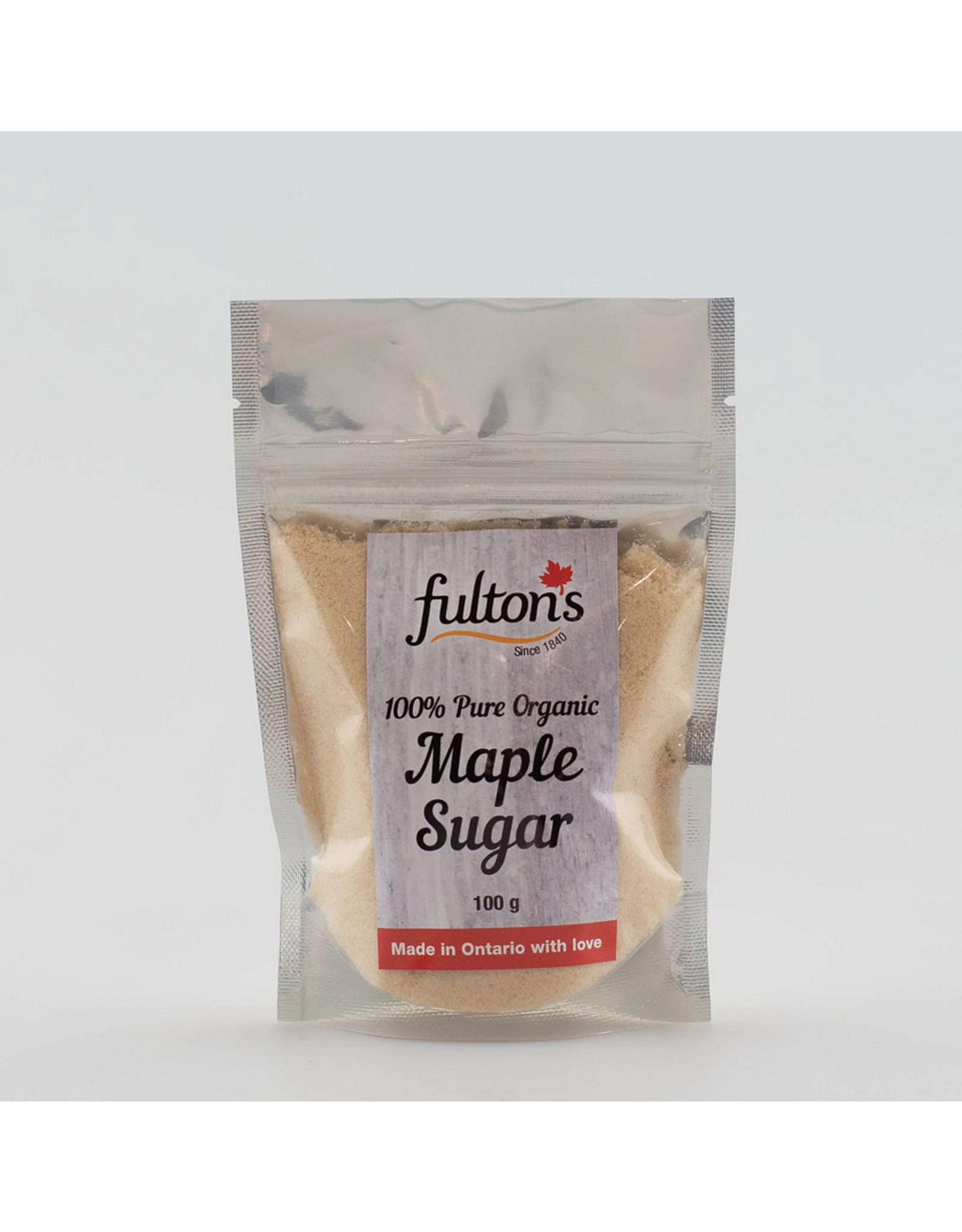Fulton's Fulton's Maple Granulated Sugar 100g