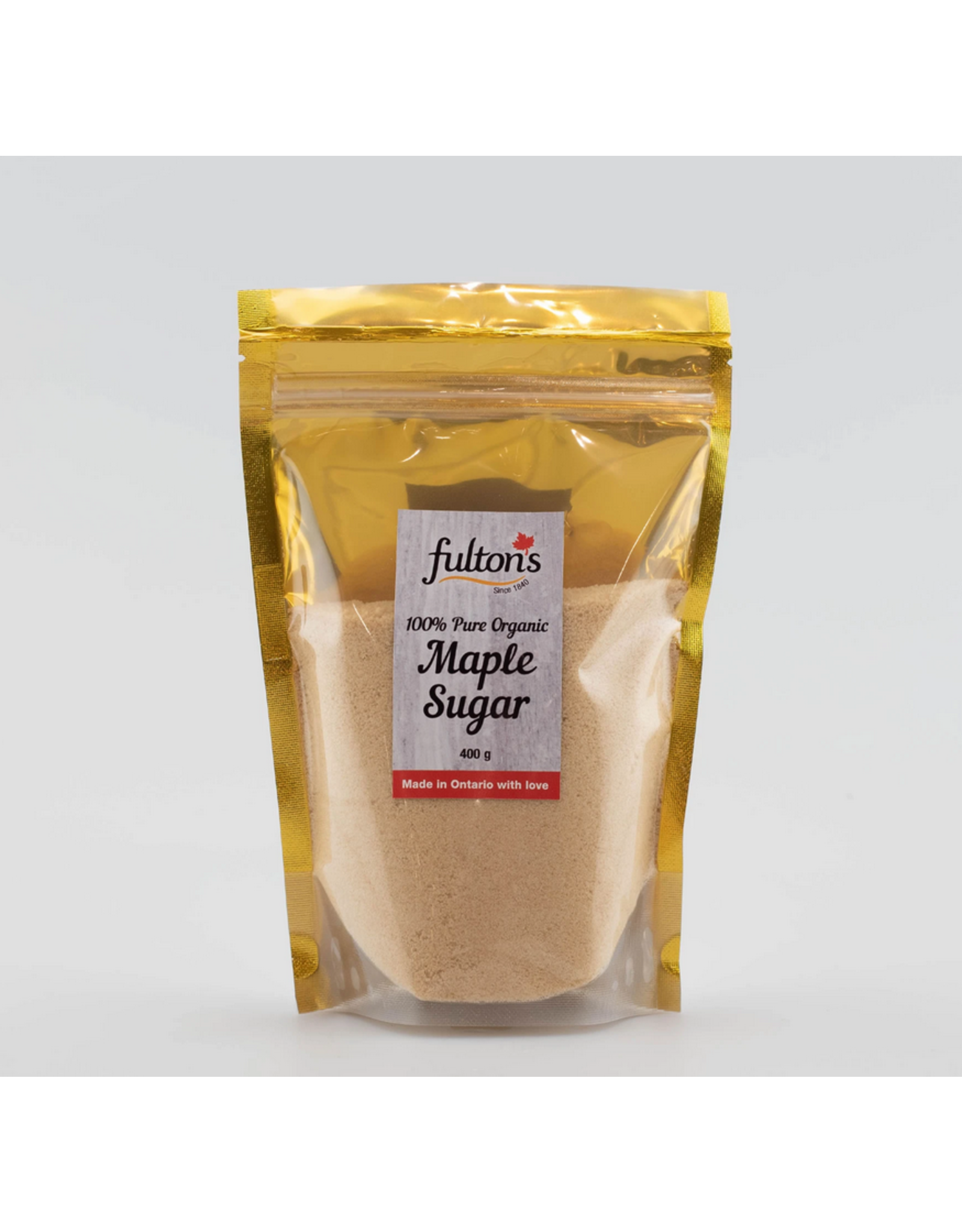 Fulton's Fulton's Maple Granulated Sugar 400g