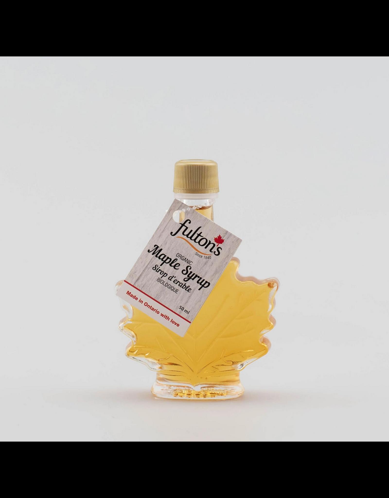 Fulton's Fulton's Maple Syrup 50ml Leaf