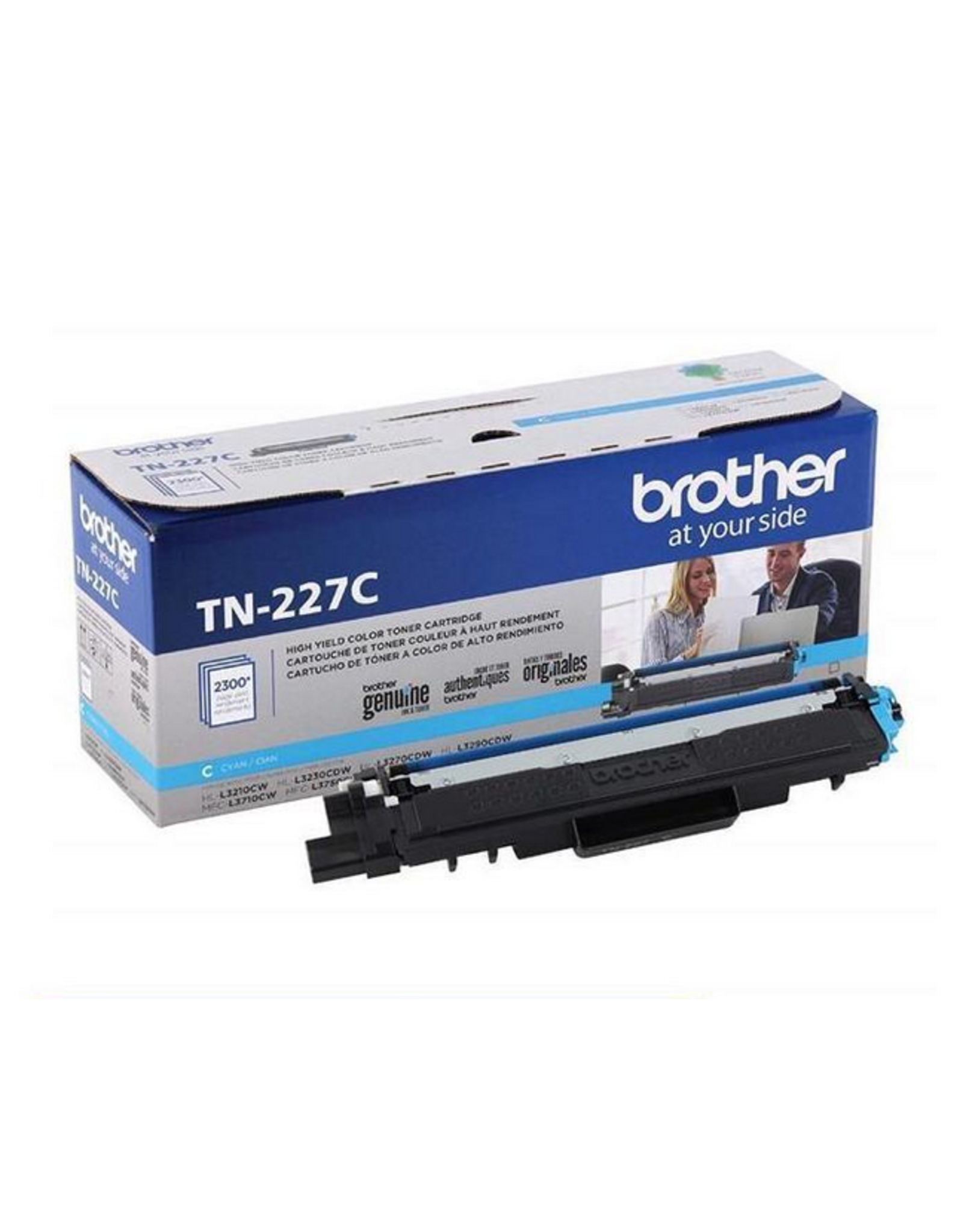 Brother BROTHER - LASER TONER-BROTHER CYAN HIGH YIELD - TN227C