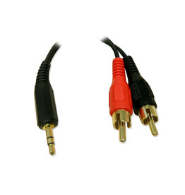 BlueDiamond BlueDiamond 3.5mm to RCA Cable M/M 6ft