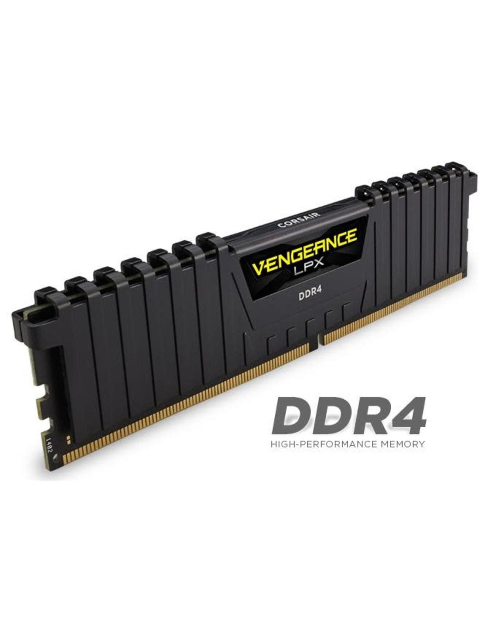 Corsair Corsair Vengeance LPX 16GB DDR4 DRAM 3200MHz C16 Memory Kit, Black
