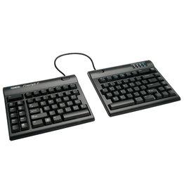 Kinesis Kinesis Freestyle2 Keyboard, Black, 9in Separation & VIP3 Accessory Bundle