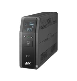 APC APC Back-UPS PRO BR 1500VA, SineWave, 10 Outlets, 2 USB Charging Ports, AVR, LCD interface